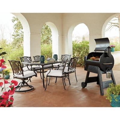Belcourt Rectangular Metal Outdoor Dining Table