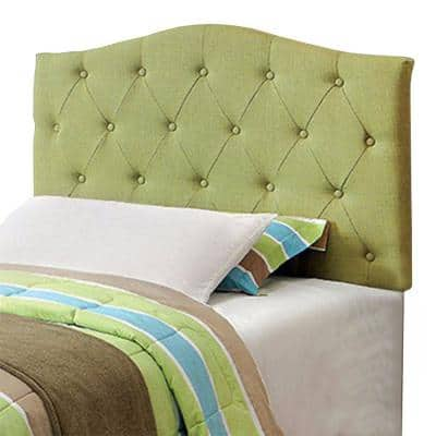 Elegant and Contemporary Green Twin Size Headboard