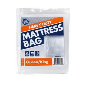 100 in. x 94 in. x 10 in. Heavy-Duty Queen and King Mattress Bag
