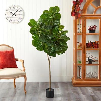6 ft. Fiddle Leaf Fig Artificial Tree