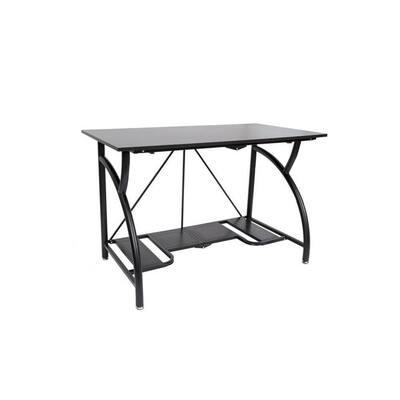 Black Multi Purpose Folding Wooden Office Computer Furniture Table Desk
