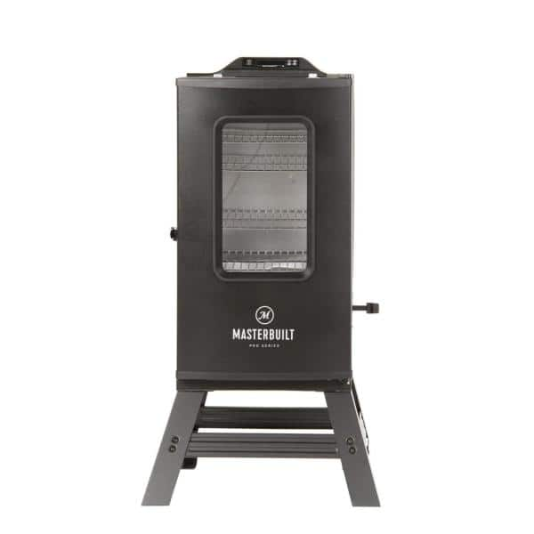 30 in. Digital Electric Smoker with Bluetooth and Broiler in Black