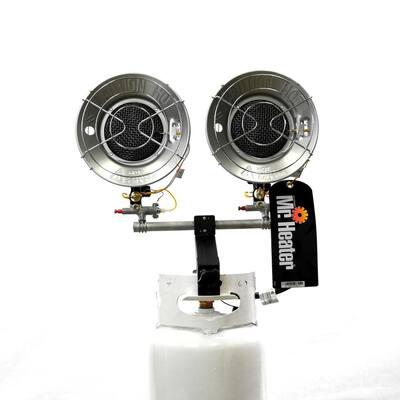 30,000 BTU Radiant Double Tank Top Propane Heater