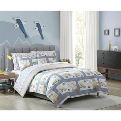 Construction Land Comforter Set