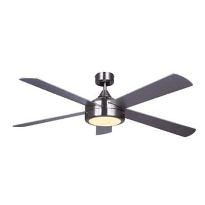 Solene 52 in. Integrated LED Ceiling Fan With Light Kit