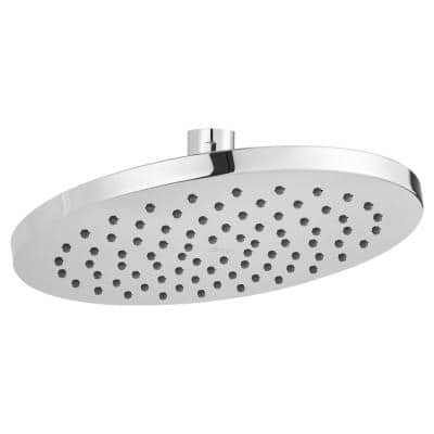 Studio 1-Spray 8 in. Single Wall Mount Fixed Shower Head in Polished Chrome