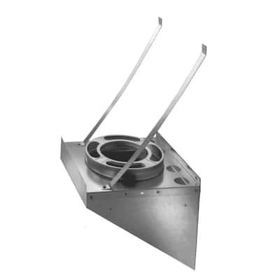 DuraPlus 6 in. Stainless Steel Tee Support Bracket