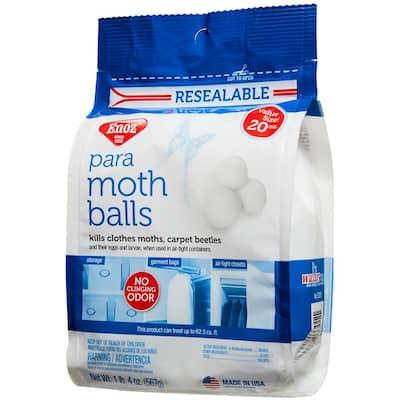 20 oz. Para Moth Balls Box