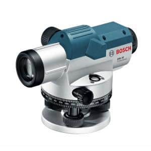 5.6 in. Automatic Optical Level Kit with a 32x Magnification Power Lens (3 Piece)