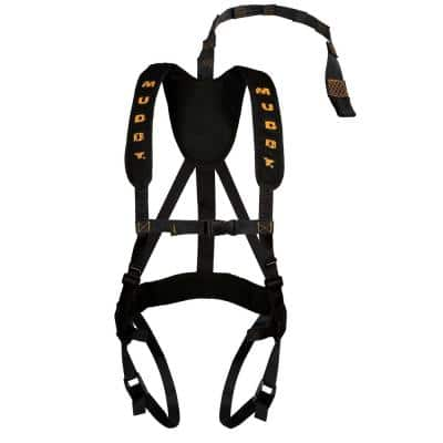Outdoors Magnum Pro Padded Adjustable Treestand Harness System in Black