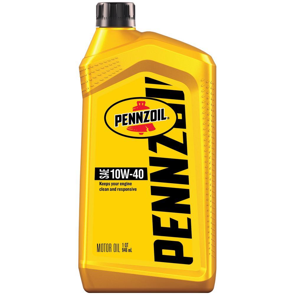 Pennzoil SAE 10W-40 Motor Oil - 1 Qt.