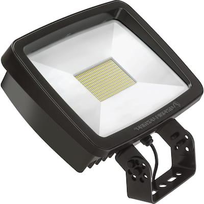 Contractor Select TFX3 188-Watt Bronze Yoke Mount Outdoor Integrated LED Flood Light 4000K