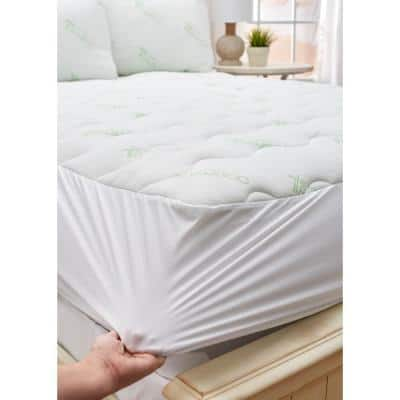 Luxurious Knit Cover King Mattress Pad