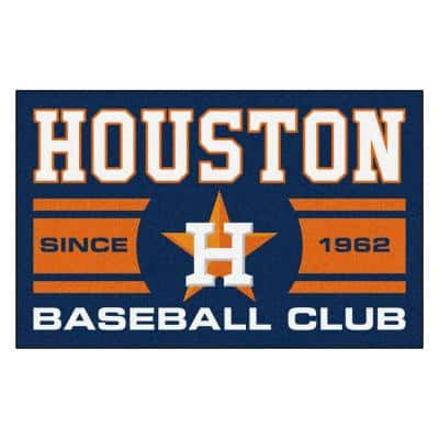 MLB Houston Astros Blue 2 ft. x 3 ft. Area Rug