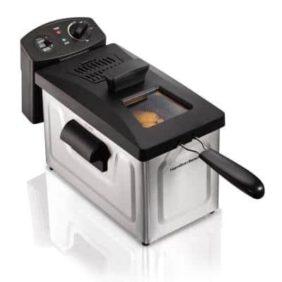 3 Qt. Stainless Steel Deep Fryer