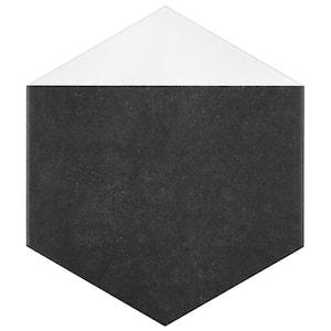 Peak Hex Blanco Encaustic 8-5/8 in. x 9-7/8 in. Porcelain Floor and Wall Tile (11.56 sq. ft. / case)