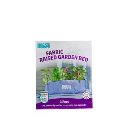 3 cu. ft. Fabric Raised Garden Bed