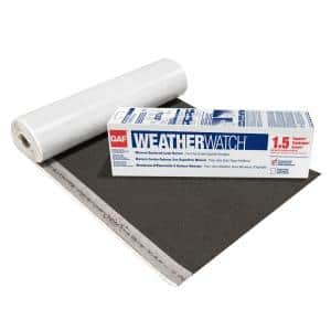 36 in. x 50 ft., 150 sq. ft. Weather Watch Mineral-Surfaced Peel and Stick Roof Leak Barrier Roll