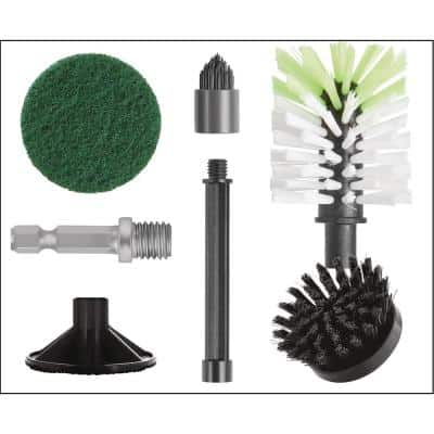 Universal Cleaning Kit with Drill Adapter
