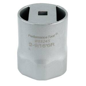 2-9/16 in. 6-Point Wheel Bearing Lock Nut Socket