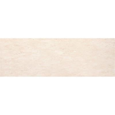 Tesola Cream 2.99 in. x 12.28 in. Matte Ceramic Single Bullnose Tile
