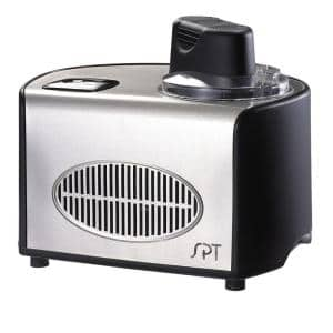 1.5 qt. Stainless Steel Ice Cream Maker with Self-Cooling System