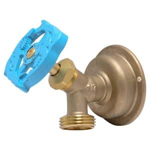 1/2 in. Push-to-Connect x MHT Brass Multi-Turn Hose Bibb