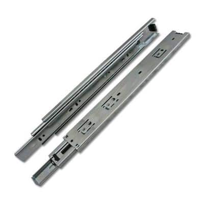 28 in. Side Mount Over Extension Ball Bearing Drawer Slides (10-Pair)