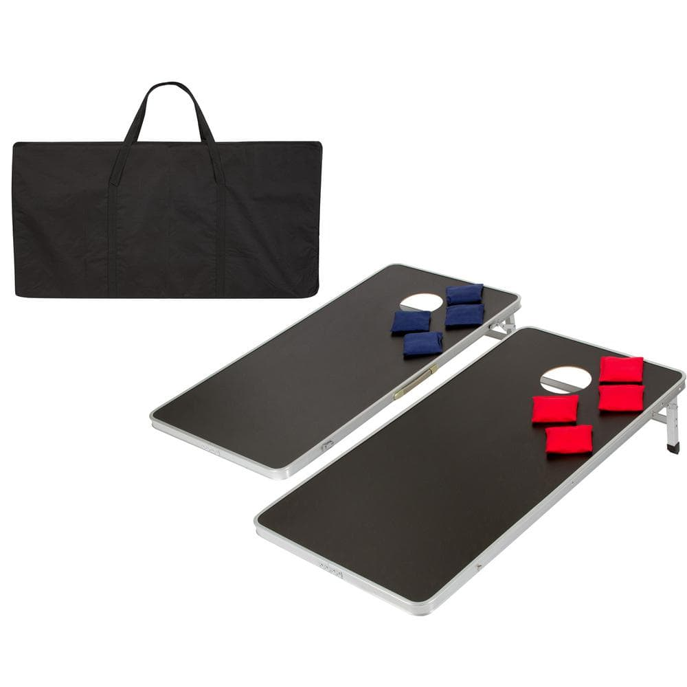 Bag Toss Jelly Fish Tropical Themed Light Weight Corn Hole 1x4 Regulation Size Custom Cornhole Board Game Set