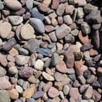 0.50 cu. ft. 40 lbs. 3/4 in. Arizona River Rock