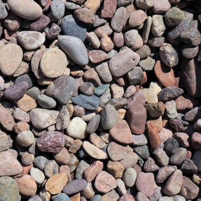 0.50 cu. ft. 40 lbs. 3/4 in. Arizona River Rock (20-Bag Pallet)