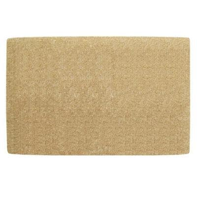 No Border Plain 38 in. x 60 in. Coir Door Mat