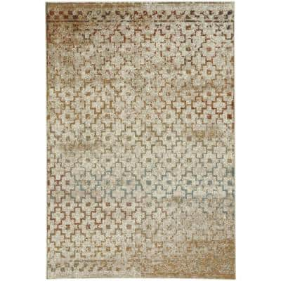 Jacob-Mission Persimmon 5 ft. x 8 ft. Area Rug
