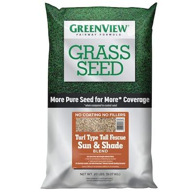 20 lbs. Fairway Formula Grass Seed Turf Type Tall Fescue Sun and Shade Blend