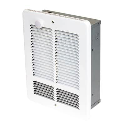 W 1500-750-Watt 5118 BTU Electric Wall Heater 120-Volt with SP Stat White
