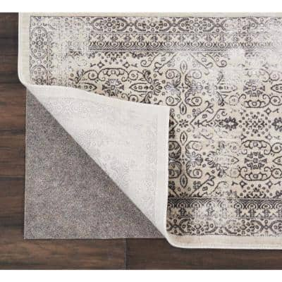 Rug-Loc Basic Cushion 3 ft. x 5 ft. Grey Rug Pad