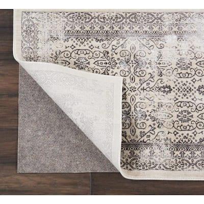 Rug-Loc Basic Cushion 12 ft. x 15 ft. Grey Rug Pad
