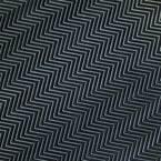 Fish-Bone Rubber Flooring Black 36 in. W x 300 in. L Rubber Flooring (75 sq. ft.)