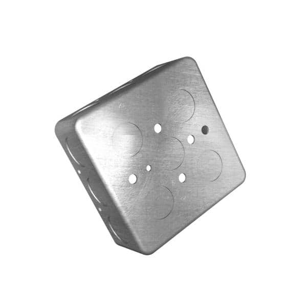 5 Steel City 4-Gang Steel Flush Wall Box GW-425-C Details about  /Lot Of