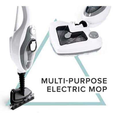 Multi-Function Steamer Mop with 350 ml Water Tank and Accessories for Garment Steaming and Floor Cleaning