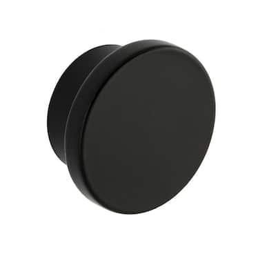 Ethan 1-5/8 in. Matte Black Round Cabinet Knob