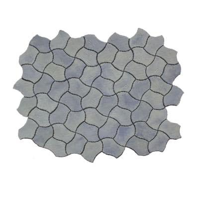 Berkshire 13 in. x 19 in. Gray Variegated Irregular Paver Kit (60-Pieces per Pallet)