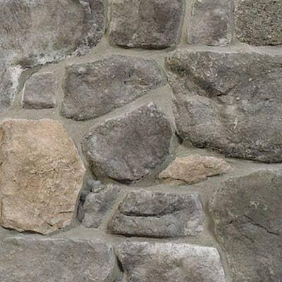 Bull Run Field Stone 5 in. x 13 in. Manufactured Stone Field Stone Flat Siding 11 sf. ft. Pack