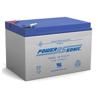 12-Volt 12 Ah Sealed Lead Acid (SLA) Rechargeable Battery