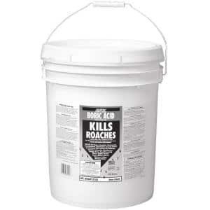25 lb. Boric Acid Insecticidal Dust in Resealable Pail