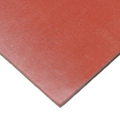 SBR 1/16 in. x 36 in. x 72 in. Red 65A Sheet