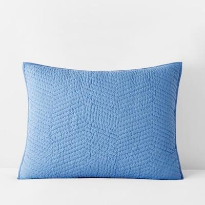 Company Cotton Delft Solid Standard Sham