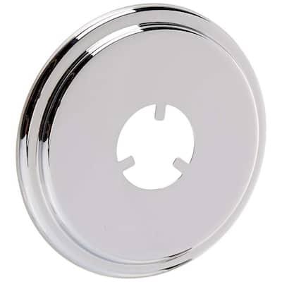 Tub Spout Escutcheon, Polished Chrome