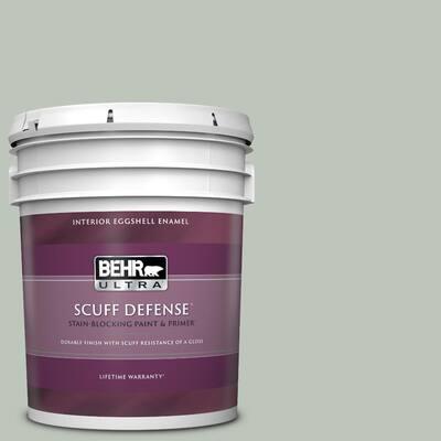5 gal. #N410-3 Riverdale Extra Durable Eggshell Enamel Interior Paint & Primer