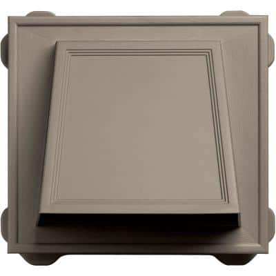 6 in. Hooded Siding Vent #097-Clay